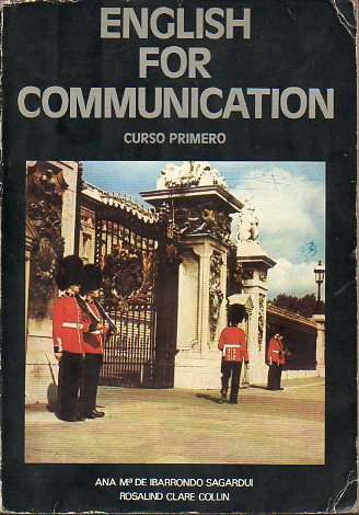 ENGLISH FOR COMMUNICATION. Curso Primero. Priemr Grado de Formación Profesional.