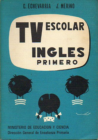 TV ESCOLAR. INGLÉS 1º.