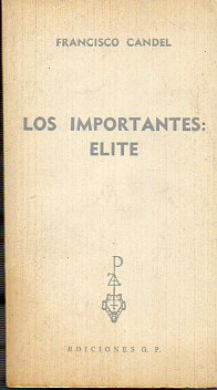 LOS IMPORTANTES: ELITE.