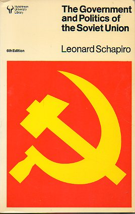 THE GOVERNMENT AND POLITICS OF THE SOVIET UNION. 6ª ed.