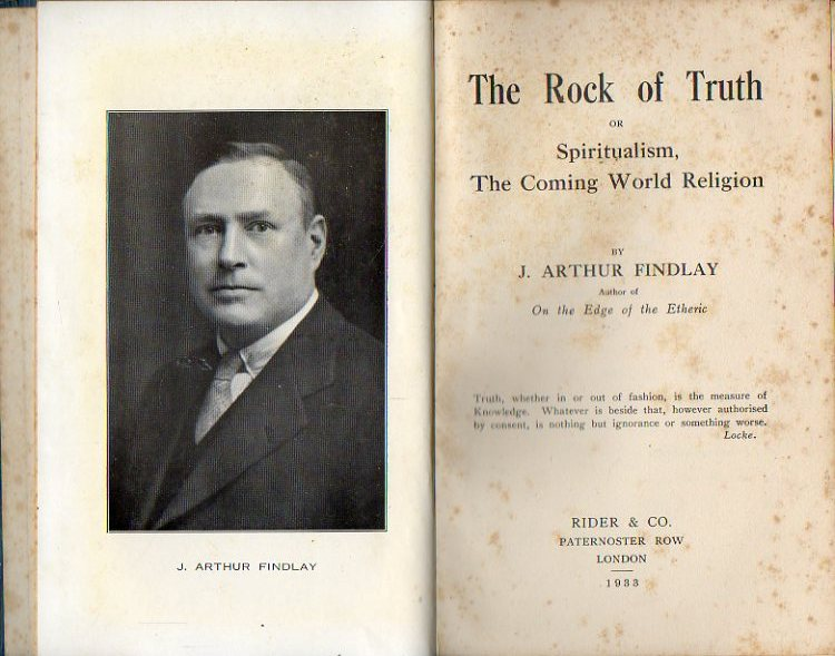 THE ROCK OF TRUTH, or Spiritualism, the Coming World Religion. 1ª ed.