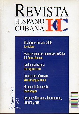 REVISTA HISPANO-CUBANA Nº 10.