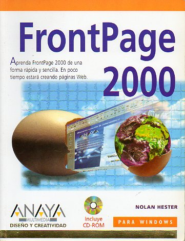 FRONTPAGE 2000. Incluye CD-ROM.
