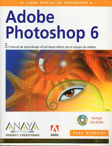 ADOBE PHOTOSHOP 6. No conserva CD-Rom.