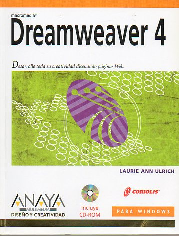 DREAMWEAVER 4. Incluye CD.