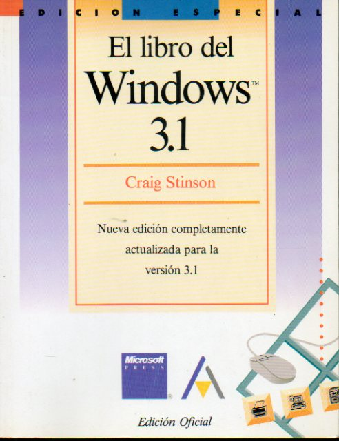 EL LIBRO DEL WINDOWS 3.1. Edición Oficial.