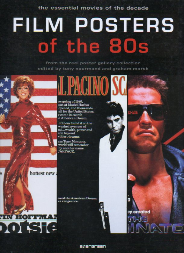 FILM POSTERS OF THE  80s. From the Reel Poster Gallery Collection.