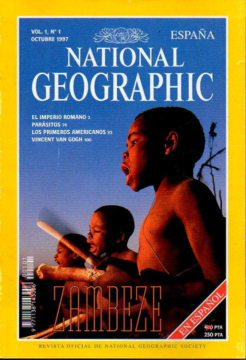 NATIONAL GEOGRAPHIC ESPAÑA. Vol. 1. Nº 1.