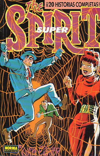 THE SPIRIT. Super 20 historias completas. Nos. 13 a 17.