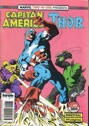 MARVEL TWO IN ONE. Nº 65. CAPITÁN AMÉRICA / THOR.