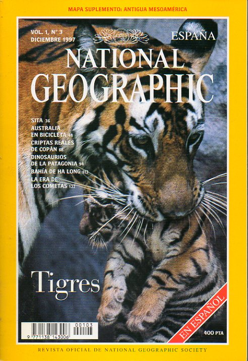 NATIONAL GEOGRAPHIC ESPAÑA. Vol. 1 Nº 3.
