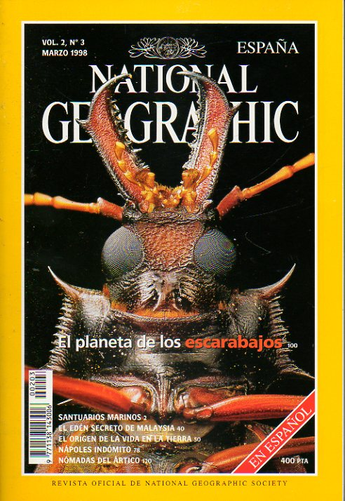 NATIONAL GEOGRAPHIC ESPAÑA. Vol. 2 . Nº 3.