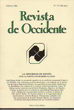 REVISTA DE OCCIDENTE. Nº 57.