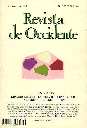 REVISTA DE OCCIDENTE. Nº 207.