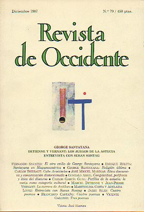 REVISTA DE OCCIDENTE. Nº 79.