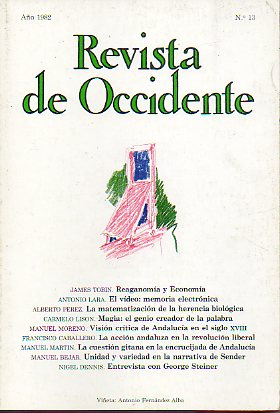 REVISTA DE OCCIDENTE. Nº 13.