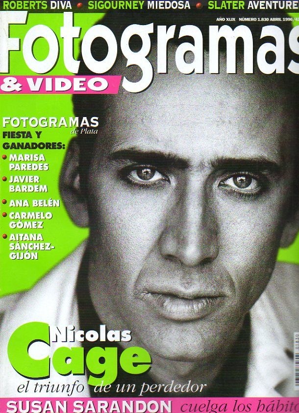 FOTOGRAMAS & VIDEO. Año XLIX. Nº 1830.