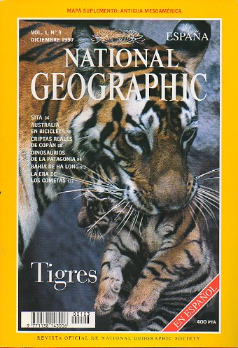 Revista NATIONAL GEOGRAPHIC MAGAZINE ESPAÑA. Vol. 1. Nº 3.