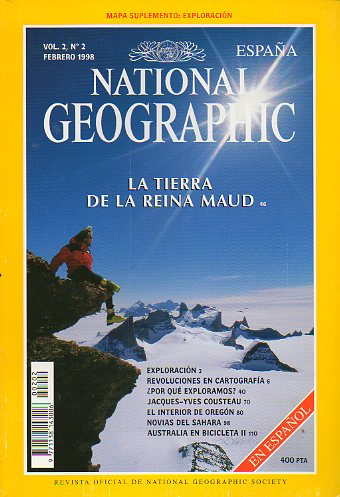 Revista NATIONAL GEOGRAPHIC MAGAZINE ESPAÑA. Vol. 2. Nº 2.