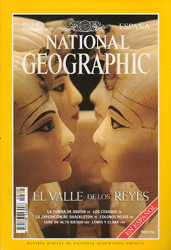 Revista NATIONAL GEOGRAPHIC MAGAZINE ESPAÑA. Vol. 3. Nº 5.