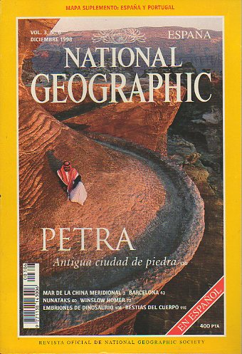 Revista NATIONAL GEOGRAPHIC MAGAZINE ESPAÑA. Vol. 3. Nº 6.