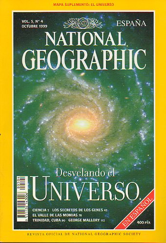Revista NATIONAL GEOGRAPHIC MAGAZINE ESPAÑA. Vol. 5. Nº 4.