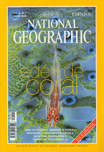 Revista NATIONAL GEOGRAPHIC MAGAZINE ESPAÑA. Vol. 4. Nº 1.