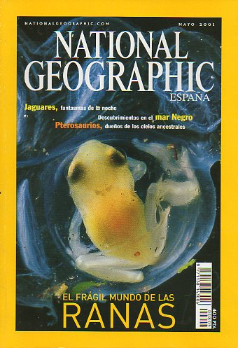 Revista NATIONAL GEOGRAPHIC MAGAZINE ESPAÑA. Vol. 8. Nº 5.