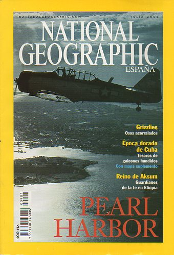 Revista NATIONAL GEOGRAPHIC MAGAZINE ESPAÑA. Vol. 9. Nº 1.