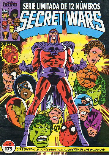 SECRET WARS. Serie Limitada de 12 números. Nº 2.