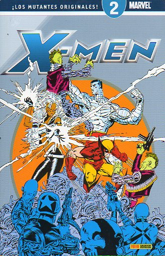 X-MEN. LOS MUTANTES ORIGINALES. MARVEL. 2.