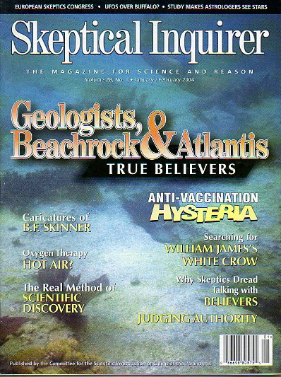 SKEPTICAL INQUIRER. The Magazine for Science and Reason. Vol. 28. Nº 1.