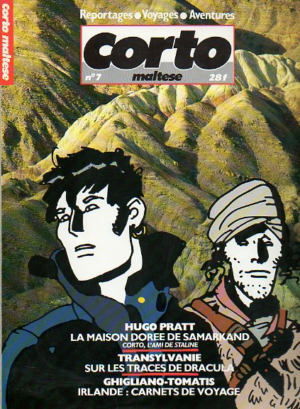 CORTO MALTESE. Reportages. Voyages. Aventures. Nº 7.