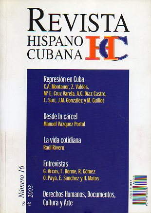 REVISTA HISPANO CUBANA. Nº 16.