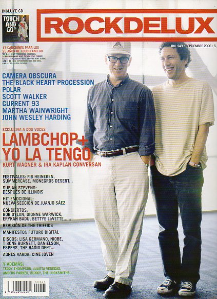 ROCK DE LUX. Nº 243. LAMBCHOP + YO LA TENGO / CAMERA OBSCURA / SCOTT WALKER / REVISIÓN: THE TRIFFIDS... No conserva CD.