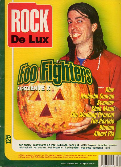 ROCK DE LUX. Nº 125. FOO FIGHTERS / BLUR / MALCOLM SCARPA / CHEB MAMI / ALBERT PLA / VÍCTOR COYOTE...