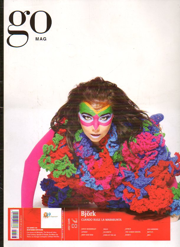 GO MAG. Nº 78. Bjork. Apparat. Wilco. Stars of the Lid. Astrud. The Sunday Drivers. Los Carradine... NO CONSERVA CD.