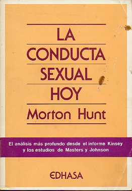 LA CONDUCTA SEXUAL HOY.