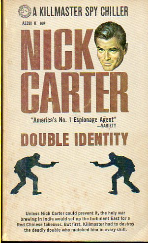 NICK CARTER. DOUBLE IDENTITY.