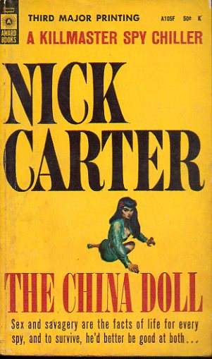 NICK CARTER. THE CHINA DOLL.
