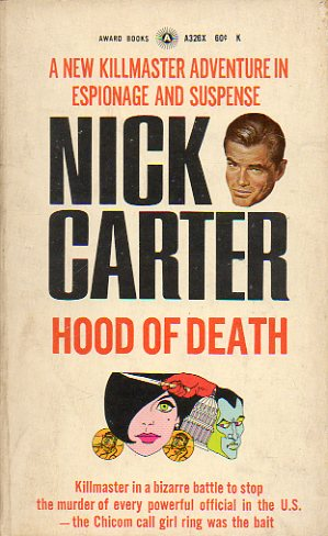 NICK CARTER. HOOD OF DEATH.