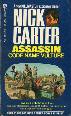 NICK CARTER. ASSASSIN CODE NAME VULTURE.
