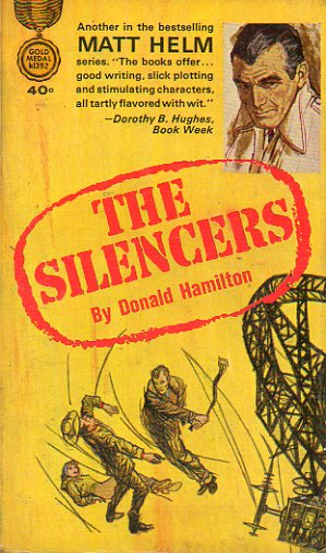 MATT HELM SERIES. THE SILENCERS.