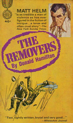 MATT HELM SERIES. THE REMOVERS.