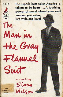 THE MAN IN THE GRAY FLANNEL SUIT.