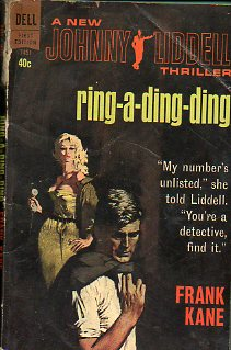 RING-A-DING-DING. A New Johnny Liddell thriller.