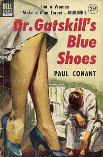 DR. GATSKILL´S BLUE SHOES.