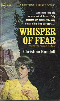 WHISPER OF FEAR (HOUSE OF SHADOWS).