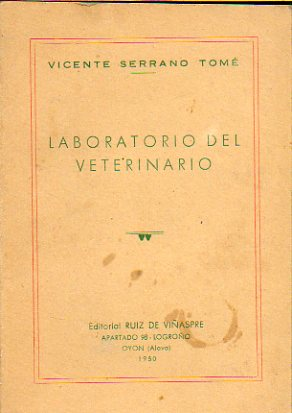 LABORATORIO DEL VETERINARIO.