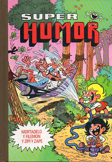 SUPER HUMOR. Volumen XIV. Mortadelo y Filemón y Zipi y Zape. 4ª ed.